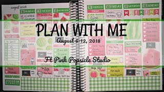 Plan With Me | Ft Pink Popsicle Studio