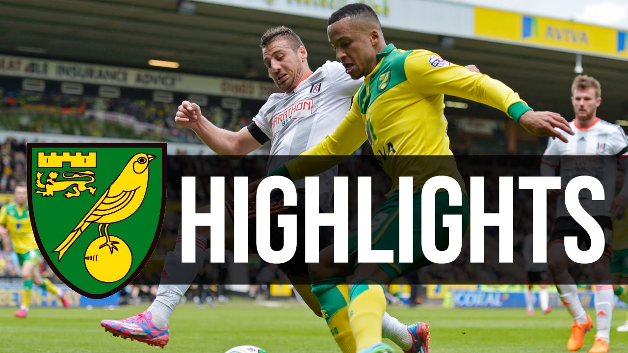Highlights Norwich City 4 2 Fulham Youtube