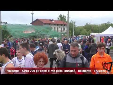 Valperga - Circa 700 gli atleti al via della Trusignè - Belmonte - Trusignè