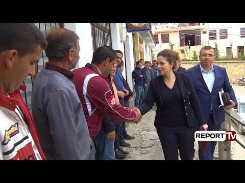 """Report TV - Xhaçka në Bulqizë: Brenda 3 viteve përfundon """"Rruga e Arbrit"""", do vini në Tiranë për 30'"""