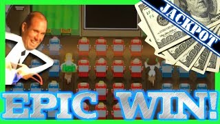 Amazing Airplane Slot Machine Bonus - EPIC WIN!!!  - HAND PAY!!!!