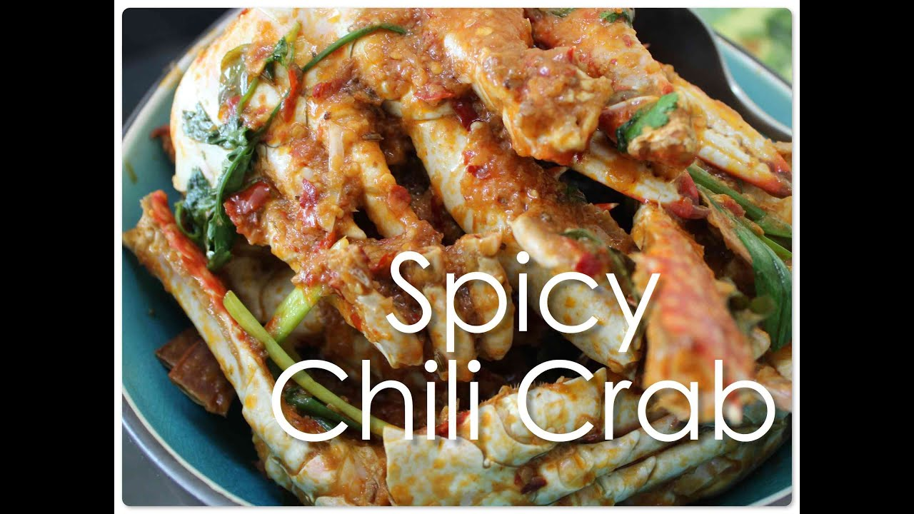 Spicy chili crab singapore indian style youtube forumfinder Gallery