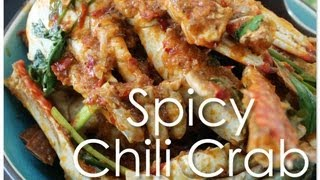 Spicy Chili Crab (Singapore Indian Style)