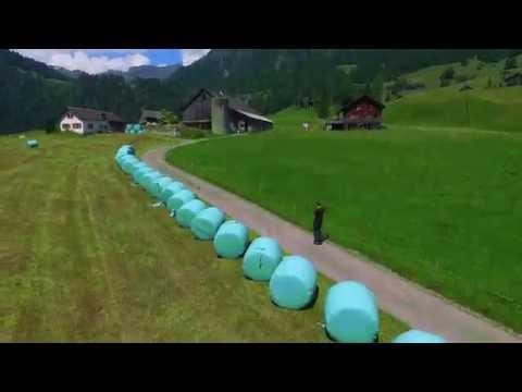 travel to Europe Switzerland with Hoverboard Superwheel.ch Schweiz Suisse kloental camping
