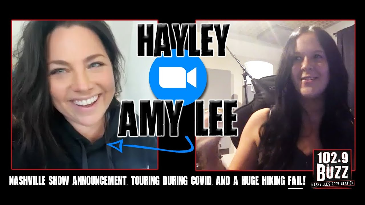 102.9 THE BUZZ WITH AMY LEE