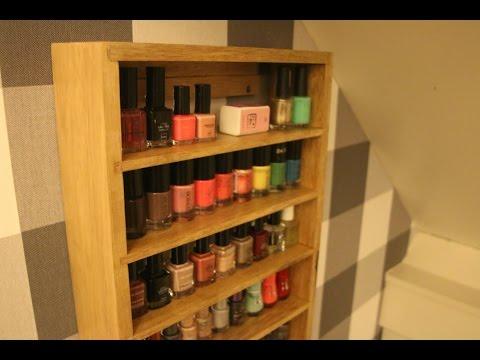 DIY Make up cabinet