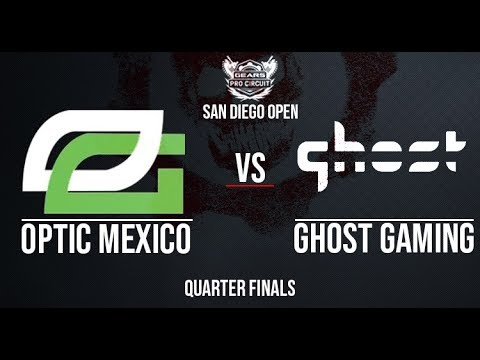 Optic Mexico vs. Ghost Gaming | Quarter-Finals | San Diego Open Day 2 | 9.29.2018
