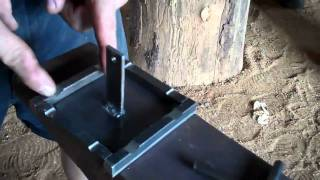 Blacksmithing Tools  Making An Anvil Hold Down