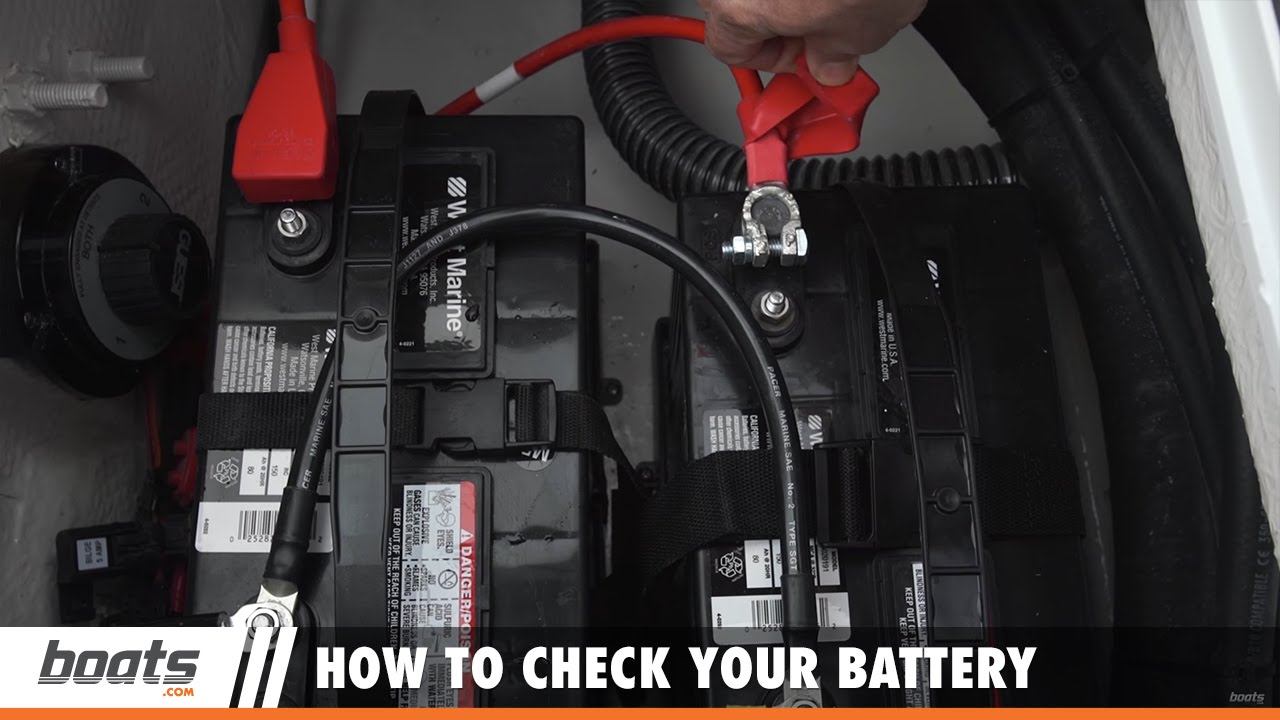 Outboard Expert How To Check Your Battery Youtube Voltmeter Wiring Boat