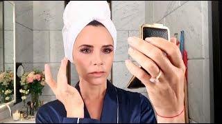 Уроки макияжа Виктории Бекхэм: Этюд в розовых тонах