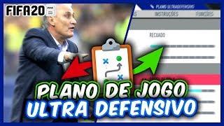 FIFA 20 | TÁTICAS, FORMAÇÕES, INSTRUÇÕES E DICAS ( ULTRA DEFENSIVO ) TÁTICA DEFENSIVA 541