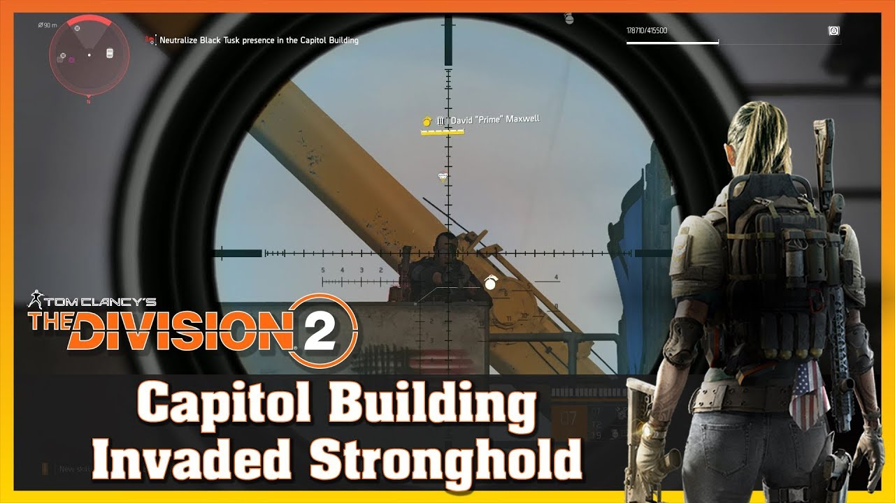Capitol Building | Stronghold Invaded | Solo | Black Tusk | THE DIVISION 2