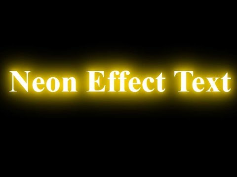 CSS3 Neon Text Effect   CSS for Beginners