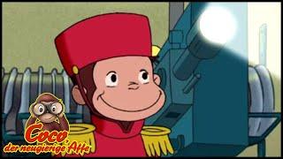 Coco der Neugierige Affe 🐵 Retter das Kino! 🐵 Ganze Folgen 🐵 Cartoons für Kinder🐵 Staffel 4