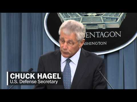 Hagel's 'difficult choices' on military budget cuts