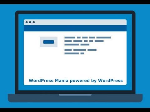 Как убрать надпись сайт работает на WordPress