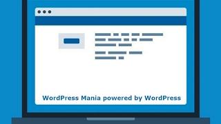 видео Как убрать надпись Сайт работает на WordPress