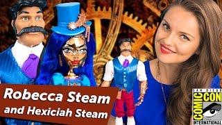 Robecca Steam & Hexiciah Steam (Робекка Стим и Хексикай Стим) Эксклюзив Comic Con,SDCC,DKB39