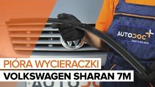 Montaż Wycieraczki szyby tylne i przednie VW SHARAN: instrukcje wideo