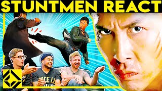 Stuntmen React To Bad & Great Hollywood Stunts 8