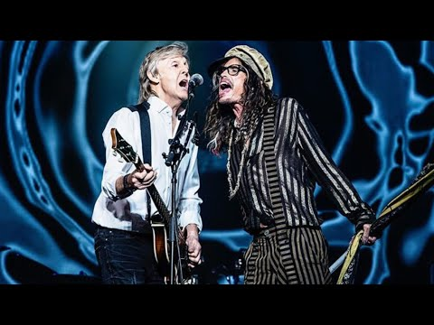 Kenny Young - Steven Tyler Joins Paul McCartney On Stage in Vegas