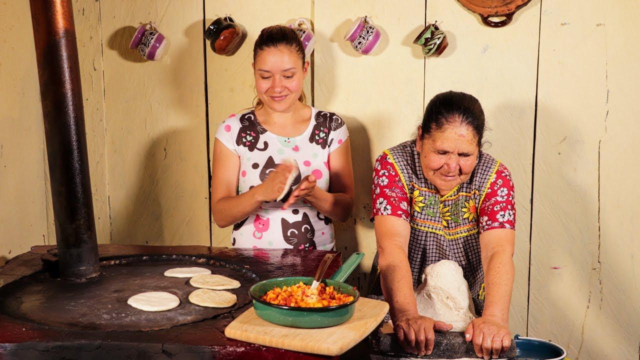 Pellizcadas de Comal De Mi Rancho A Tu cocina