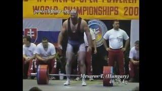 IPF Men's records in deadlift that will never be broken