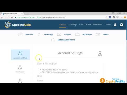 SPECTROCOIN BITCOIN WALLET - How To Register with Spectrocoin - How To Buy and Sell Bitcoin