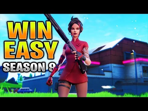 How To Get EASY Wins In Fortnite Season 9 | Fortnite Tips And Tricks