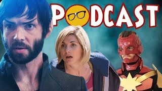 Star Trek Discovery of Apathy | The MCU's Endgame | Doctor Who's Demise and News
