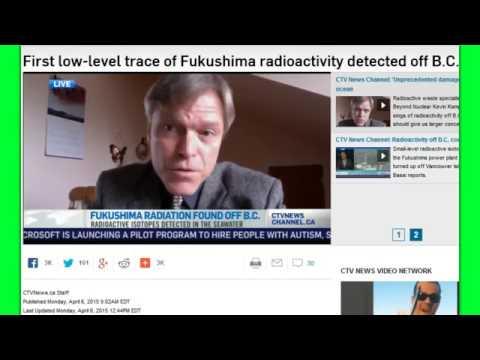 Fukushima Radiation Detected On North American Shores 4 6 15