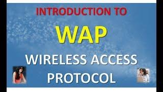 INTRODUCTION TO WAP WIRELESS ACCESS PROTOCOL