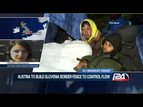 Austria to build Slovenia border fence to 'control' migrant flow