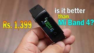 Tenor Move (10.or Move) Fitness Band with color display for Rs. 1,399  - better than Mi Band 4?