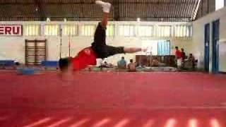 break dance air track bboy nano the end