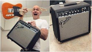 Ultimate Affordable Guitar/Amp PACK - Fender Frontman 15G & Squier Affinity Telecaster