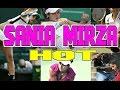 Sania Mirza Hot Pics On Tennis Court