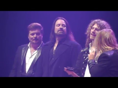 Trans-Siberian Orchestra 11/29/15: 15 - Singer Intros + Jen Cella - Hartford,CT 3pm TSO FullShow