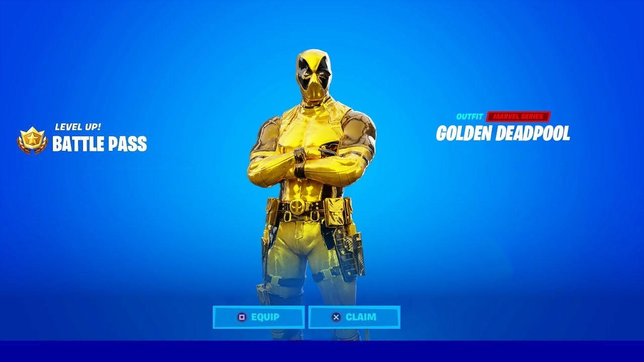 HOW TO GET GOLDEN DEADPOOL SKIN IN FORTNITE! - YouTube