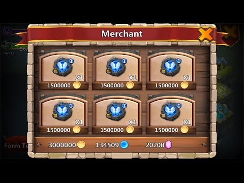 Castle Clash Merchant (Lost Realm Store)