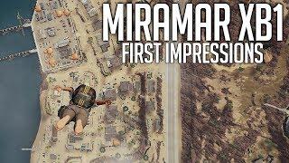 PUBG Xbox One Miramar (Desert Map) First Impressions - Playerunknown's Battlegrounds