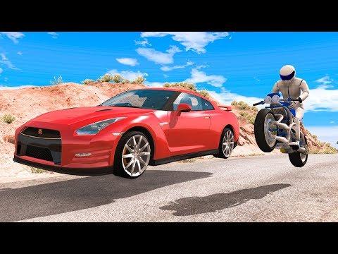 Street Racing Crashes #13 - BeamNG DRIVE | SmashChan |