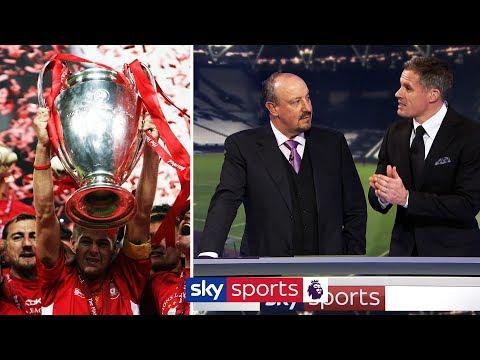 Rafa Benitez & Jamie Carragher on how Liverpool won the Champions League in 2005 🏆