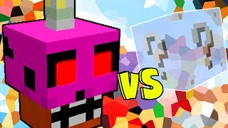 CUPCAKE NIGHTMARE VS  LUCKY BLOCK INVISIVEL (MINECRAFT LUCKY BLOCK CHALLENGE)