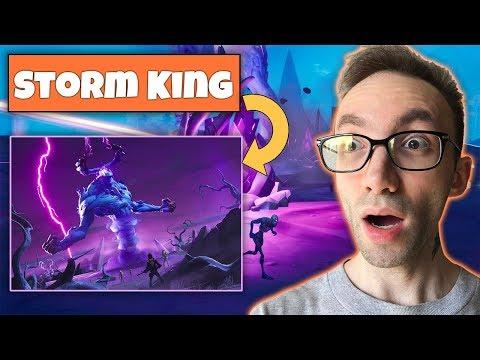 Fortnite Storm King Event - یک ایونت باحال تو فورتنایت