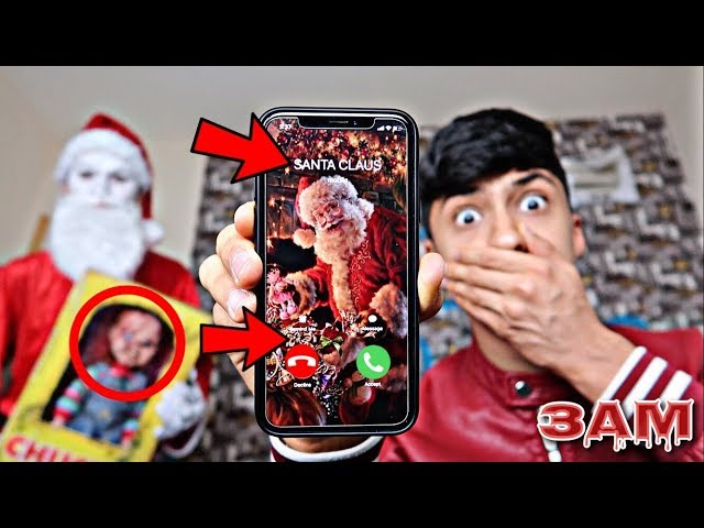 DO NOT CALL SANTA CLAUS AT 3AM!! *OMG HE CAME TO MY HOUSE*