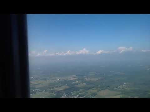 Landing in Buffalo United States