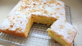 Миндально-масляный бисквит.