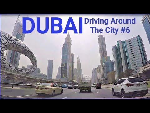 Dubai Drive From Deira Clock Tower To Dubai Mall