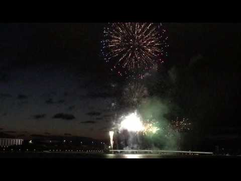 Australia Day 2017 Canberra Fireworks